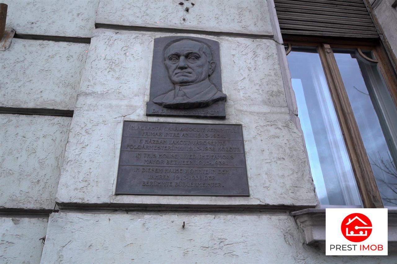 Casa Bernády György, strada Revolutiei, TgMures