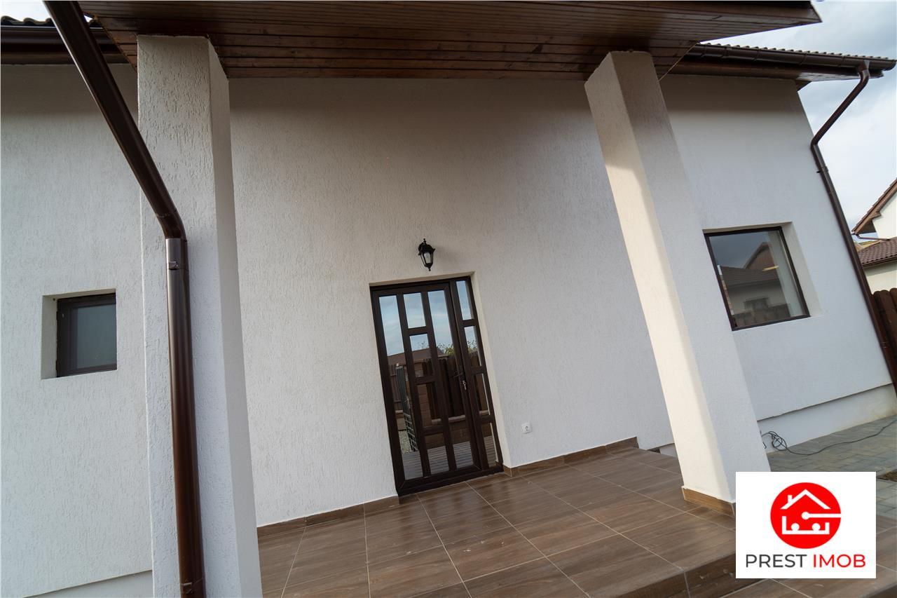 Casa de vanzare 4 camere 198 mp si teren 400mp , la cheie Sancraiul de Mures