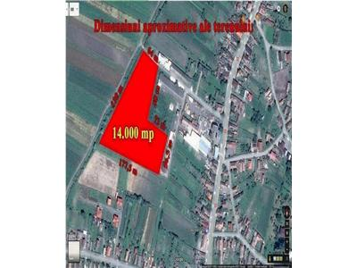 De vanzare teren intravilan 14.000 m2 Ernei, Mures